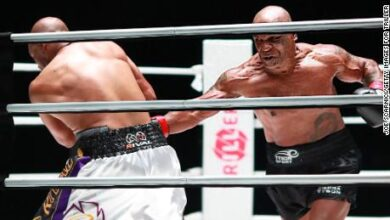 Photo of Mike Tyson draws with Jones Jr in return match