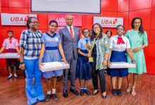 Photo of UBA National Essay Competition: 10 Girls outshines compatriots in creative writing