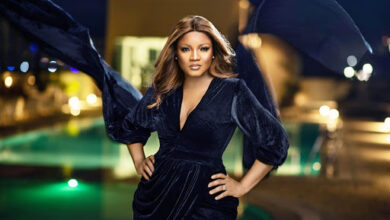 Photo of Omotola asks blogger to show proof of alleged romance with ex-APC Chairman