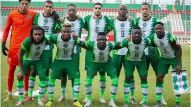 Photo of Nigeria play goalless draw against Cameroon in Austria