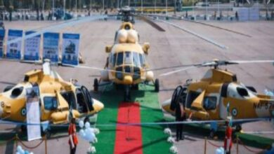 Photo of Buhari commissions NAF helicopter, Alpha jets