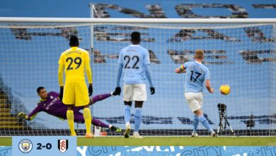 Photo of Manchester City cruise to 2-0 win over Fulham