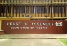 Photo of Ogun Assembly minority leader, six others defect to APC