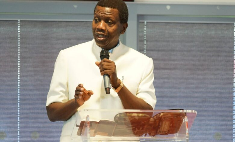 Pastor Adeboye breaks silence on son's death: 'God gives and takes at will'