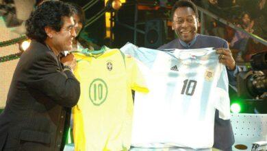 Photo of Pele pens love notes to Maradona