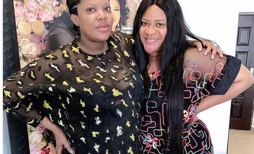 Photo of Nkechi Blessing begs Toyin Abraham for forgiveness