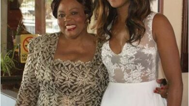 Photo of Nollywood star Osas Ighodaro pays tribute to late mum