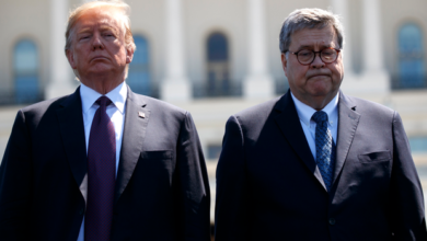 Photo of U.S. Attorney General, Barr, resigns