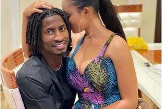 Photo of Nollywood actress Yetunde Barnabas engaged to footballer Peter Olayinka