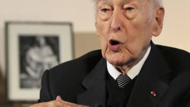 Photo of Former French president Giscard d'Estaing dies at 94