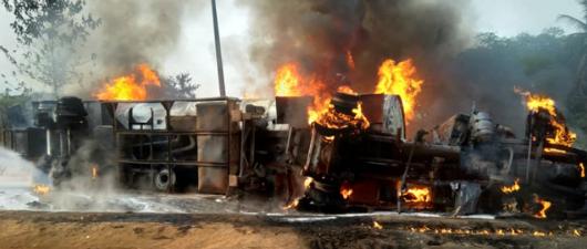Two injured as another gas explosion rocks Abeokuta