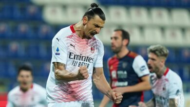Photo of Ibrahimovic scores twice as leaders AC Milan ease past Cagliari