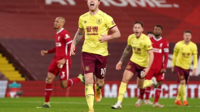 Photo of Burnley stun Liverpool to end unbeaten home record