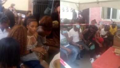 Photo of 43 clubbers, strippers arrested in Lagos for violating COVID-19 protocols