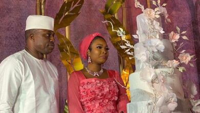 Photo of Dimeji Bankole weds Kebbi governor's stepdaughter in Abuja