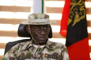 Irabor takes over leadership of Defence as Olonisakin bows out