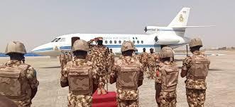 Photo of Boko Haram war: New Service Chiefs land in Maiduguri