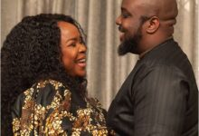 Photo of Photos: Omawumi celebrates her husband on his birthday