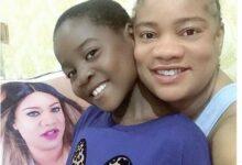 Photo of Nollywood actress Opeyemi Aiyeola adopts a girl child