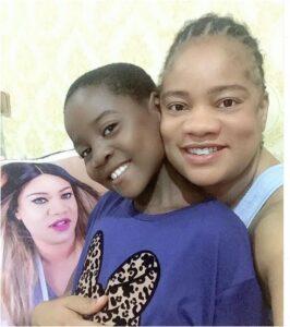 Nollywood actress Opeyemi Aiyeola adopts a girl child