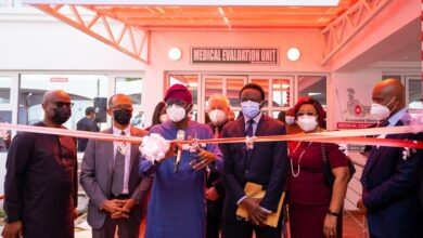 Photo of Photos: Sanwo-Olu commissions Armoured Shield Isolation Centre