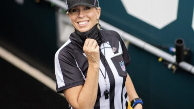 Photo of NFL nominates first female referee for Super Bowl