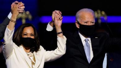 Photo of Biden, Harris sworn-in as President, Vice President of United States