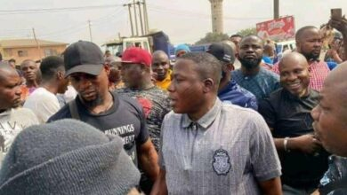 Photo of BREAKING: Sunday Igboho Arrives Ogun State To Evict Killer Fulani Herdsmen [Photos]