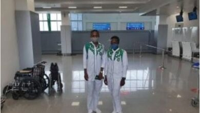 Photo of Two Nigerian cyclists leave for CAC Race Championship