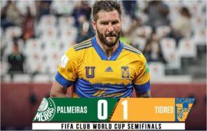 Tigres beat Palmeiras to reach FIFA Club World Cup final