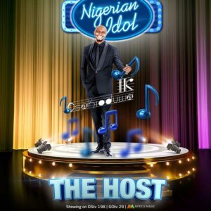 Ik Osakioduwa named host, Nigerian Idol season 6