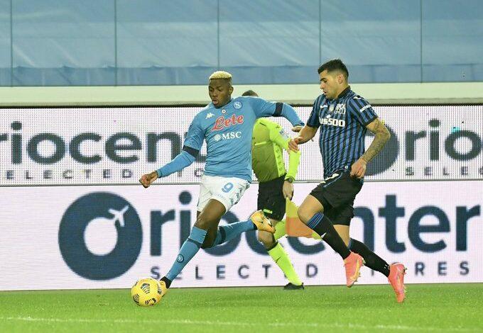 Napoli confirm Osimhen suffered head trauma