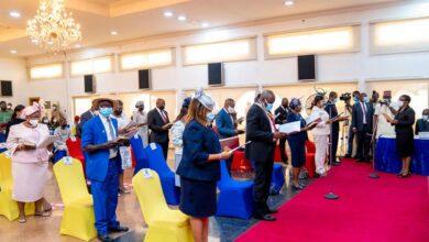 Photo of Sanwo-Olu swears in 18 new Permanent Secretaries