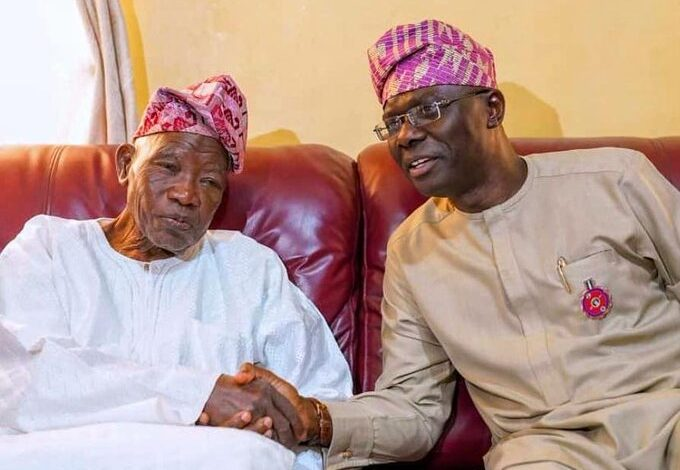 Sanwo-Olu pays condolence visit to Jakande's family, says no governor has matched his achievements