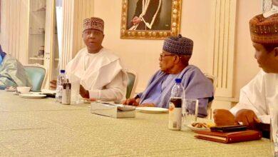 Photo of 2023: Saraki in closed-door meeting with Babangida (photos)
