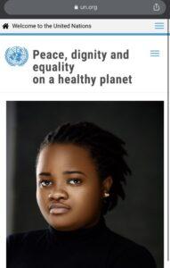 United Nations honours #EndSARS protester Rinu Oduala