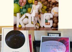 Photo of Tonto Dikeh gifts son `real-life star' as he clocks 5