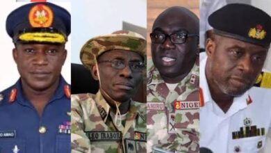 Photo of We're ready to end insecurity, Service Chiefs assures Nigerians