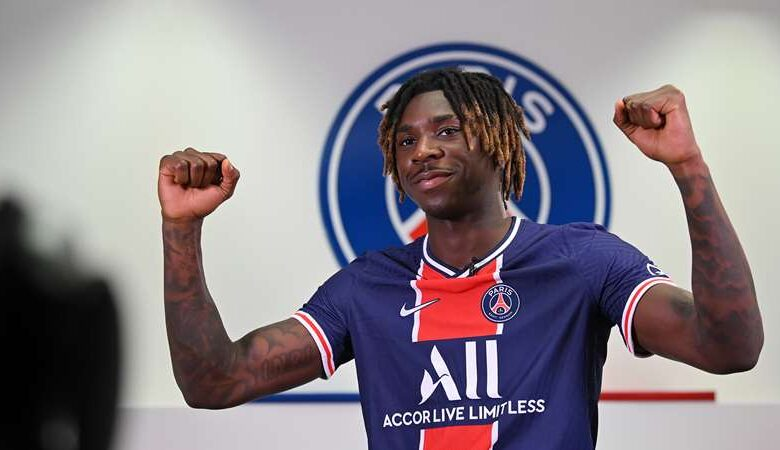 PSG forward, Kean tests positive for COVID-19