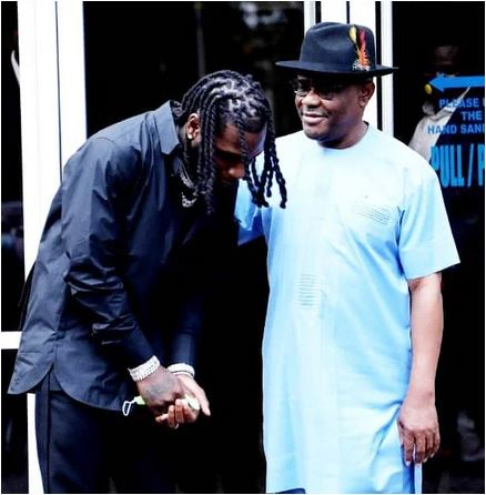 Rivers Govt. hosts Grammy awardee, Burna Boy in Port Harcourt