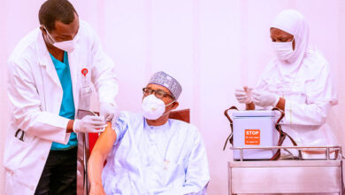 Photo of COVID-19 vaccine: Buhari urges governors, traditional rulers, others to take lead