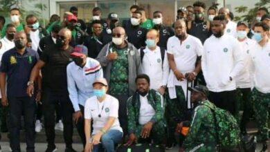 Photo of Photos: Super Eagles Arrive Benin Republic Ahead AFCON clash