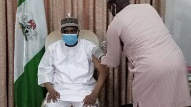 Photo of Sokoto: Gov. Tambuwal, Deputy take COVID-19 vaccine