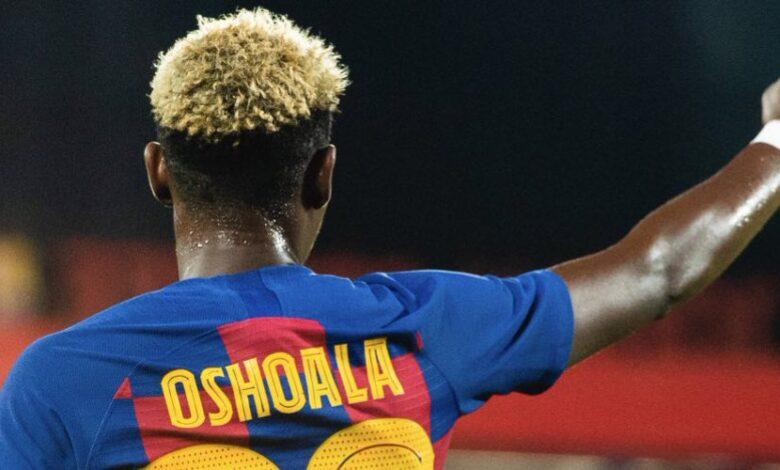 Oshoala scores in Barcelona Women's 4-1 rout of former club Arsenal