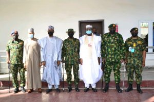 Photo of Insecurity: CDS, service chiefs visit Zamfara, urge troops to be ruthless, aggressive