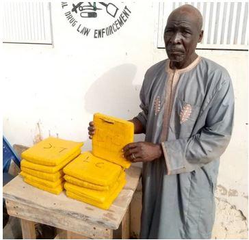 NDLEA arrests 70-year-old drug trafficker for supplying drugs to Boko Haram, bandits