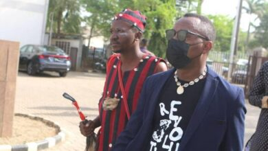 Photo of Drama As Herbalist Follows Sowore To Court