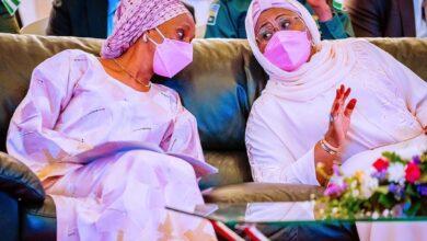 Photo of Dangote, Tinubu, Rabiu, others splash millions on Aisha Buhari's Book [See Who Donates What]