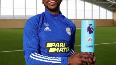 Photo of Nigeria's Iheanacho beats Harry Kane, others to EPL Player of the Month Award