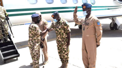 Photo of Missing Aircraft: Chief of Air Staff visits Borno, calls for calm